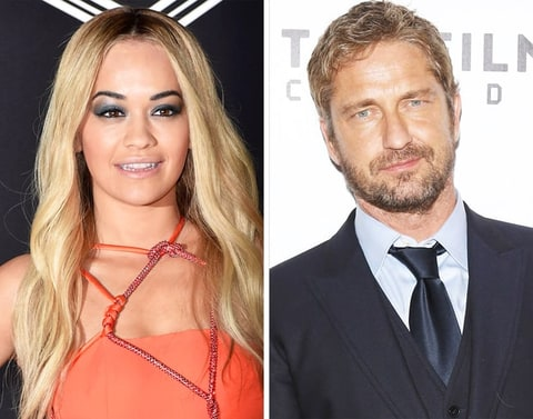 Rita Ora and Gerard Butler