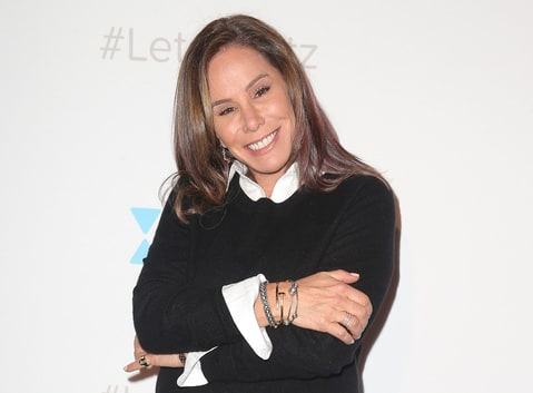 Melissa Rivers attends the 'Let's Kibitz' Showcase hosted by JDate at Hollywood Improv