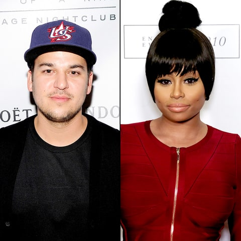 Rob Kardashian reportedly staying at Blac Chyna's home