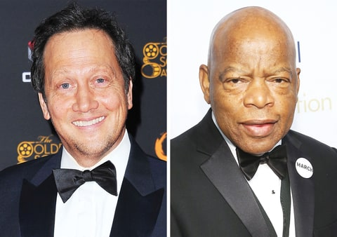 Rob Schneider and John Lewis