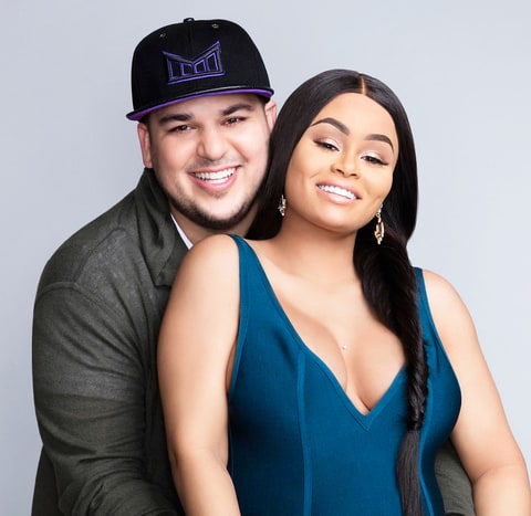 Rob Kardashian and Blac Chyna