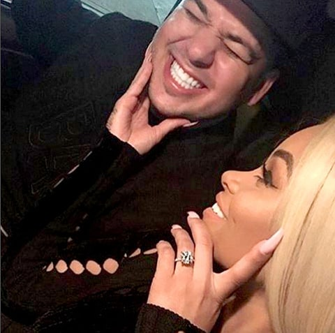 Rob Kardashian and Blac Chyna look cute in new Instagram snap