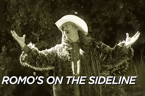 Rob Riggle in FOX NFL's parody of Adele's Hello