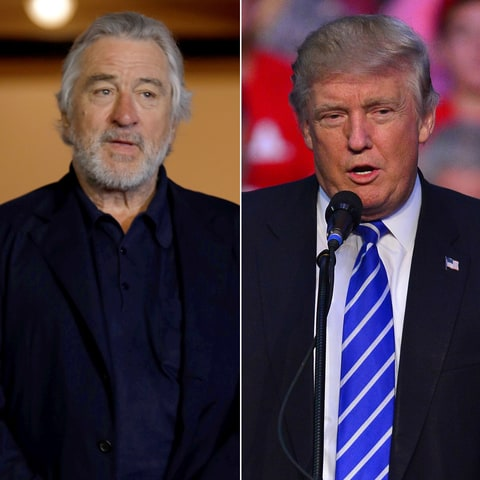 Robert De Niro on Donald Trump: 'He's totally nuts'