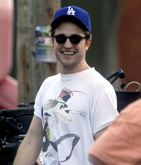 rob patz in la dodgers cap