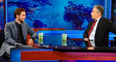 robert pattinson daily show