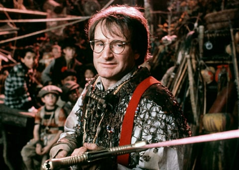 robin williams in hook