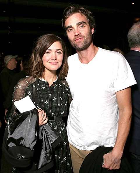 Rose Byrne with brother George