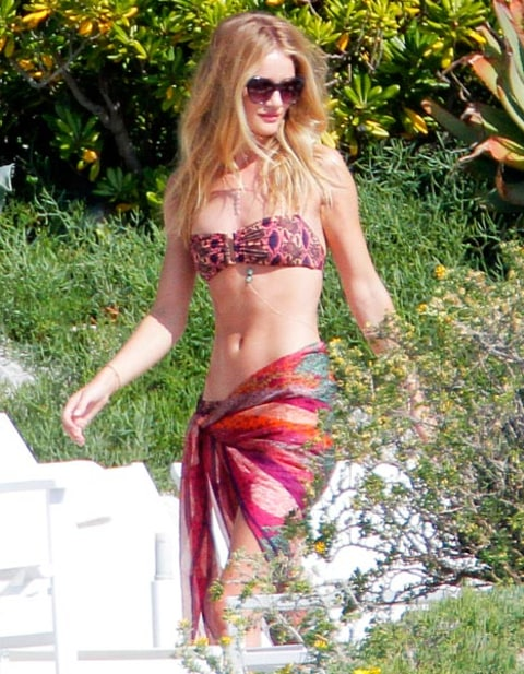 rosie huntington-whiteley bikini
