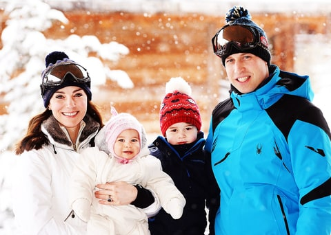Catherine, Duchess of Cambridge and Prince William, Duke of Cambridge, Princess Charlotte and Prince George