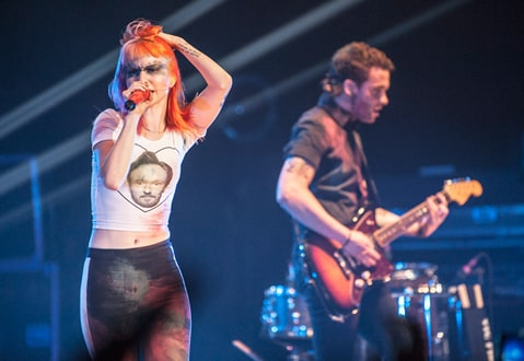 Paramore, perform at the Wilten, in Los Angeles, CA