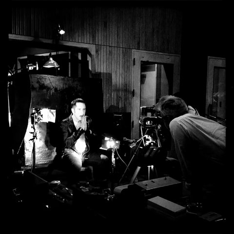 nine inch nails trent reznor photo shoot david lynch
