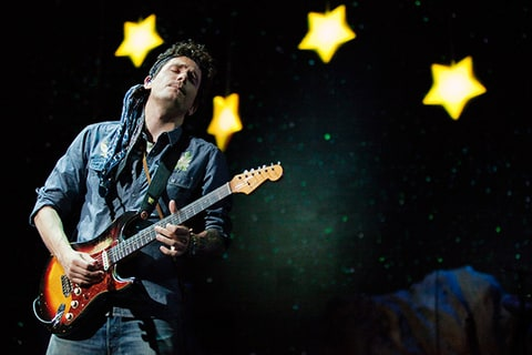 John Mayer, comeback, performance, Milwaukee, wisconsin