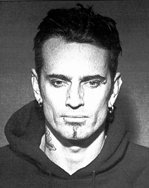 Tommy Lee of Motley Crue mug shot