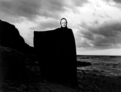 THE SEVENTH SEAL, Bengt Ekerot, 1957