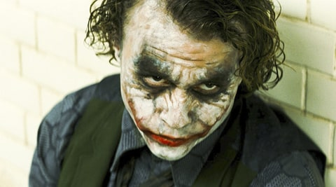 Heath Ledger the joker dark knight