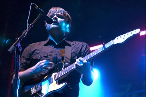 Ben Gibbard of the Postal Service performs in Chicago.