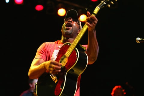 Darius Rucker performs in Nashville.