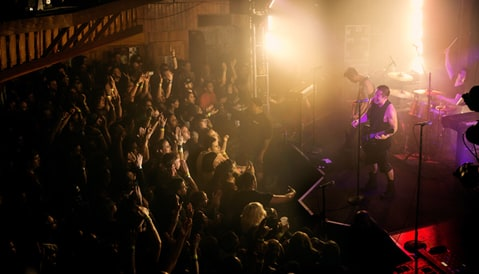 Nine Inch Nails perform at the Troubadour in Los Angeles.