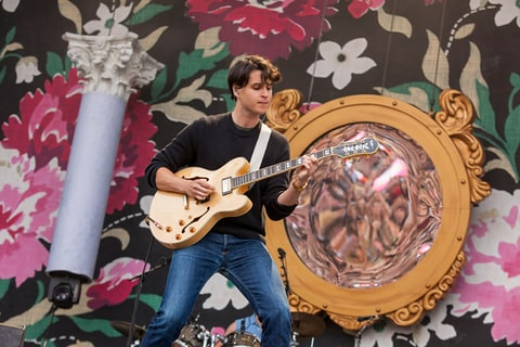 Ezra Koenig of Vampire Weekend performs in Chicago.
