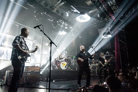 The Pixies perform at the El Rey Theatre in Los Angeles.