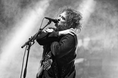 The Cure perform at Austin City Limits Music Festival in Austin, Texas.