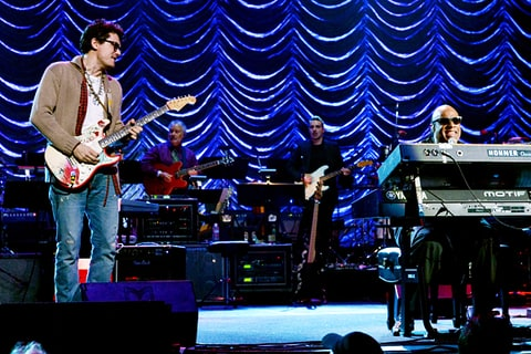 stevie wonder john mayer los angeles nokia theatre