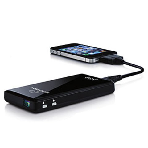 Top toy the pocket size projector rolling stone for Best pocket size projector