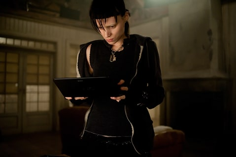 girl with dragon tattoo rooney mara