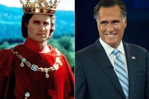 Prince Humperdinck and Mitt Romney