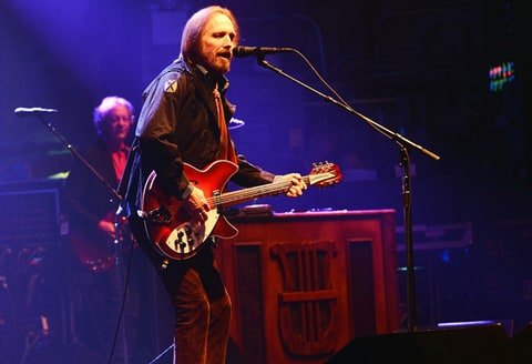 Tom Petty performs at the Beacon Theatre in New York.