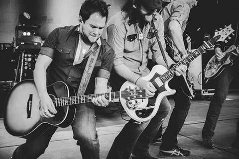 Eli Young Band, NCAA, March Madness, Music Festival, Dallas, TX, guitar, country, on stage