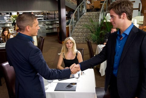 Reese Witherspoon, Tom Hardy and Chris Pine in 'This Means War.'