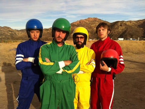 The first images from OK GO's new video for 'Needing/Getting' which comes out February 5th, 2012.