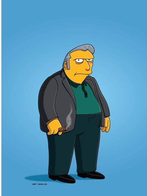 Fat Tony in 'Bart the Murderer'