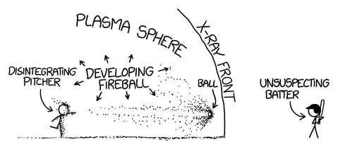 Image from Randall Munroe's 'What If?' book