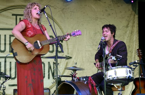 Shovels & Rope perform.