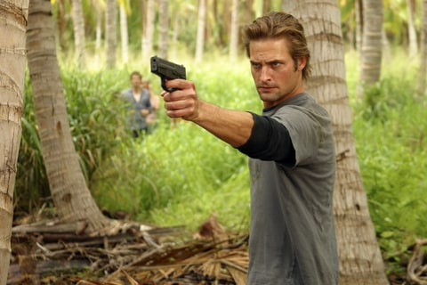 Josh Holloway as Sawyer on 'Lost'