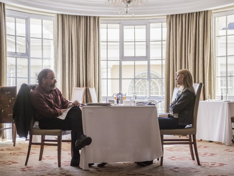 Mandy Patinkin and Claire Danes in 'Homeland'.