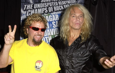 Sammy Hagar and David Lee Roth