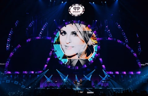Meghan Trainor performs at iHeart Radio