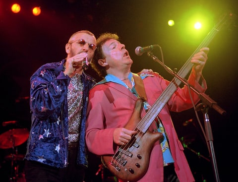 Ringo Starr and Jack Bruce