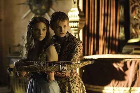 Natalie Dormer as Margaery Tyrell and Jack Gleeson as Joffrey Baratheon in 'Game of Thrones.'