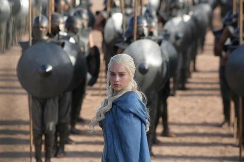 Emilia Clarke as Daenerys Targaryen in 'Game of Thrones.'