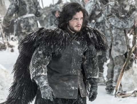 Kit Harington as Jon Snow in 'Game of Thrones.'