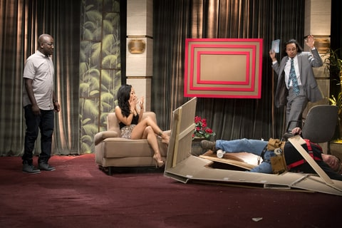 No one is safe on the set of The Eric Andre Show, as Asa Akira finds out.