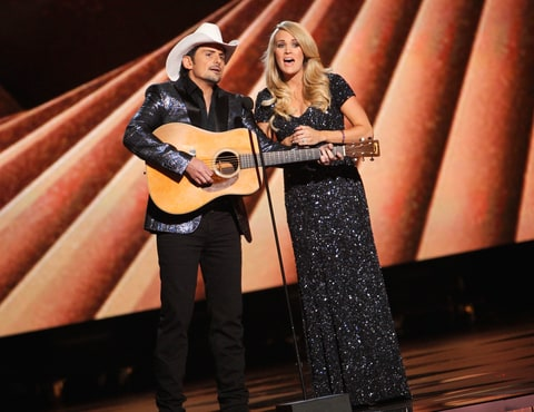 Brad Paisley, Carrie Underwood, CMA Awards