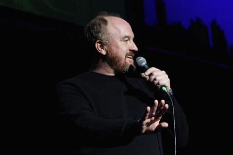 Louis C.K. performing the New York Comedy Festival and Bob Woodruff's 8th Annual Stand Up For Heroes.