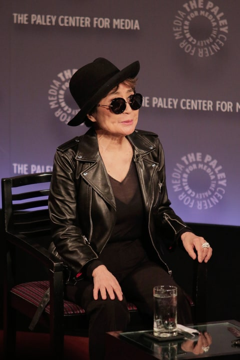 Yoko Ono at Paley Center For Media on November 11, 2014 in New York City.