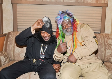 Sly Stone and George Clinton